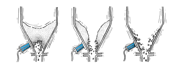 Übersicht pneumatischer Klopfer