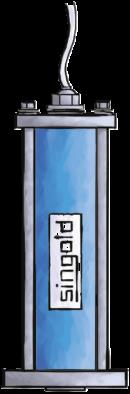 Pneumatischer Klopfer Singold Gerätetechnik
